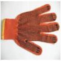 Перчатки с точкой ПВХ с 1-ой стороны, 75гр